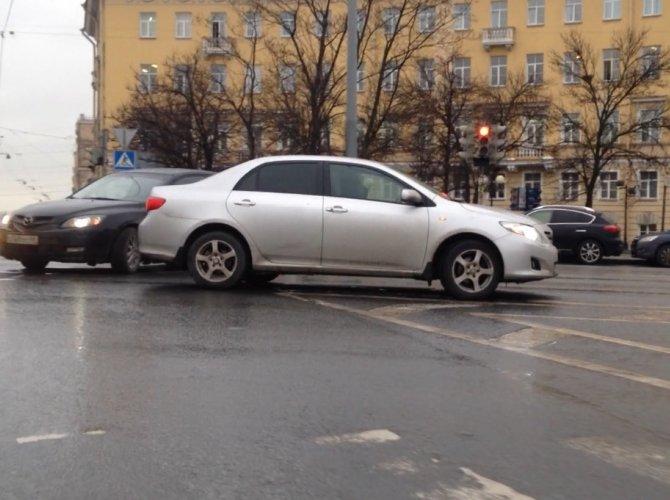 ДТП на набережной Фонтанки / Московский проспект