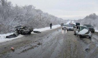 Татарстан: в страшной аварии погибли два человека