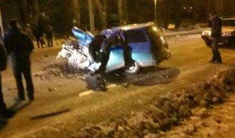 В Башкирии «одиннадцатая» столкнулась с троллейбусом