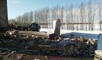 Один человек погиб в массовом ДТП на трассе в Татарстане