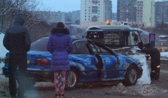 Легковушка перевернулась в Североморске по вине пьяного водителя