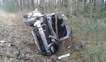 Семья выжила в лобовом столкновении в Гродненской области