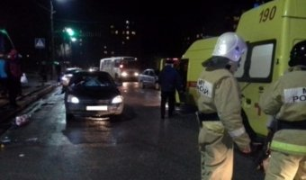 Татарстан: в Нижнекамске пьяный водитель сбил семью на «зебре»