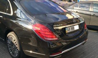 Mercedes-Maybach  появился в Киеве до официальной премьеры