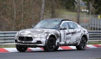 Maserati тестирует серийный кроссовер Levante