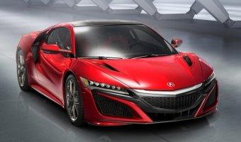 Новый суперкар Acura NSX будет иметь 10 радиаторов