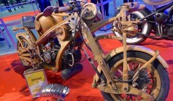 Деревянный байк - Гран При в номинации FreeStyle (IMIS 2015)