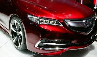 Обзор бизнес-седана Acura TLX 2016