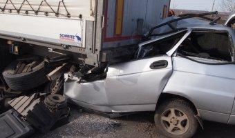 Под Самарой в ДТП погибло трое молодых людей