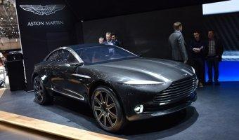 Aston Martin DBX получит электродвигатели прямо на колесах