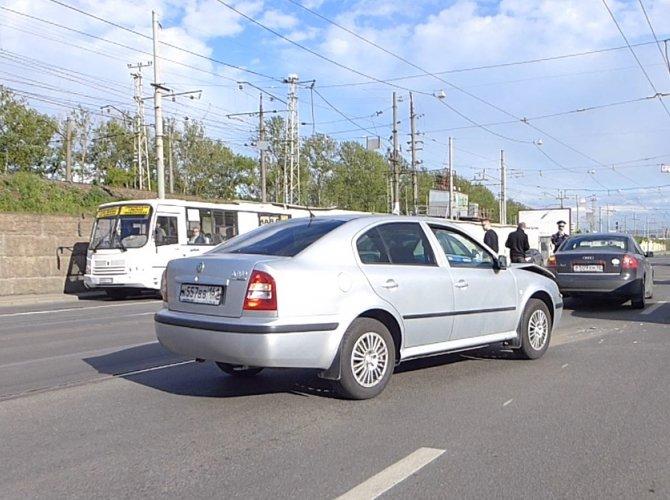 ДТП на Лесном проспекте