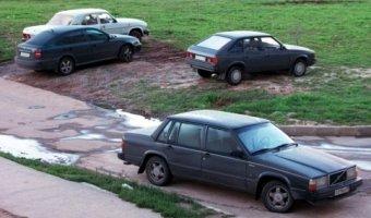 В Москве увеличены штрафы за парковку на газонах