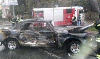 В Донецке разбился автомобиль с российскими журналистами