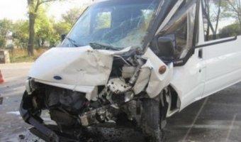 В Калужской области пострадало 16 человек в ДТП с маршруткой