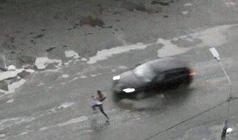 В Серове водитель Audi сбил школьницу