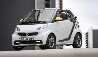 В сентябре во Франкфурте представят новый кабриолет Smart Fortwo