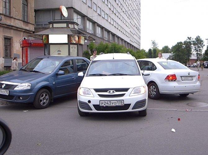 ДТП на улице Академика Лебедева