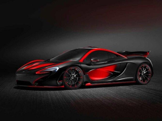 black red McLaren P1 красно черный 3.jpeg