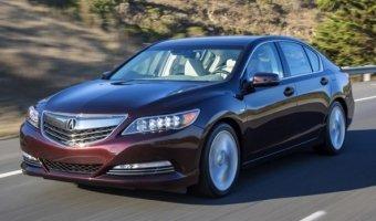 Acura обновили седан RLX Sport Hybrid