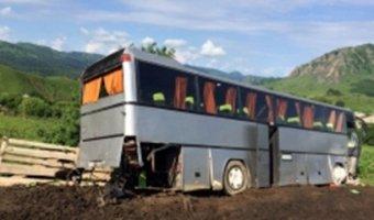 В ДТП в Карачаево-Черкесии пострадали пассажиры экскурсионного автобуса