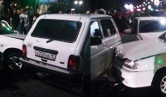 Массовое ДТП во Владикавказе: шестеро пострадавших, в том числе дети