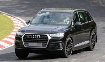 Audi SQ7 проходит тесты на Нюрбургринге