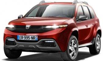 Следующее поколение Dacia Duster станет семиместной