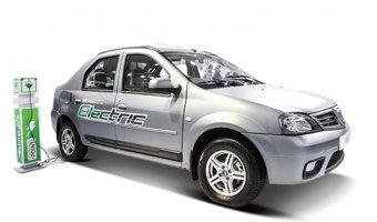 В Индии представлена предсерийная версия электрического Mahindra Verito EV
