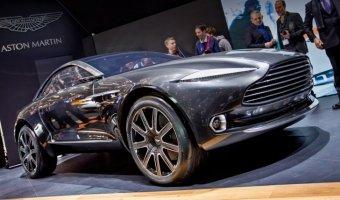 Новые фото концептуального Aston Martin DBX