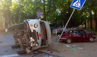 В Великих Луках в ДТП погиб водитель «скорой помощи»