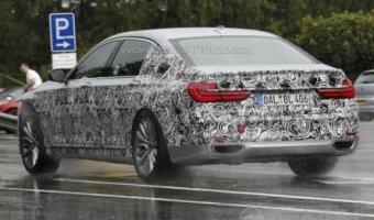Шпионские фото Alpina B7 на базе BMW