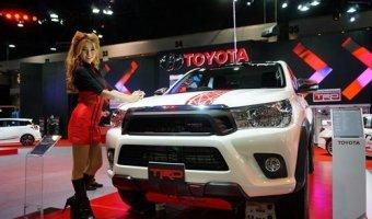 Экстремальная версия новой Toyota Hilux
