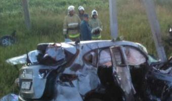 В ДТП в Татарстане погибли четыре человека