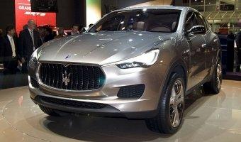 Кроссовер Maserati Levante будет представлен в 2016 году