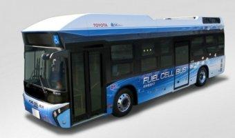 В Японии появились первые водородные автобусы