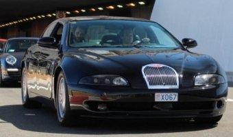 В Монако замечен прототип Bugatti EB112