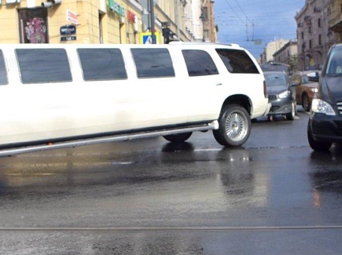 ДТП - Кирочная Литейный с лимузином