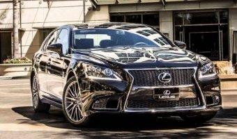 Седан Lexus LS нового поколения может получить водородный двигатель