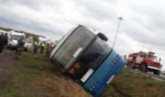 В ДТП под Самарой пострадали 22 человека