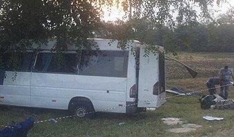На Кубани В ДТП с маршруткой погибли два человека
