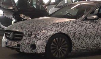 Фотошпионы поймали Mercedes E-Class W213 2016
