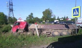 дтп под ярославлем грузовик и автобус