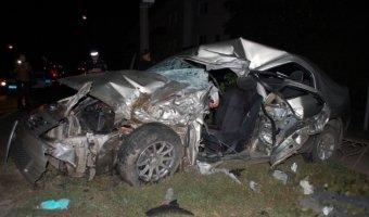 ДТП В Уфе погибли два человека по вине пьяного водителя