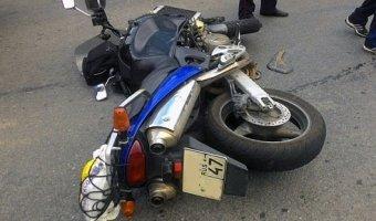 дтп мотоцикл санкт-петербург девятого января
