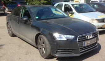 Audi А4 spy moscow