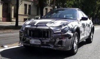 Maserati Levante засняли во время тестирования