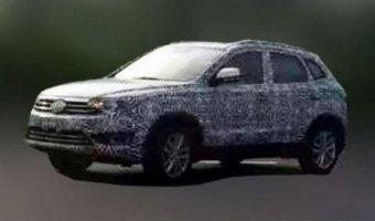 В Китае проходит тесты новый внедорожник Volkswagen