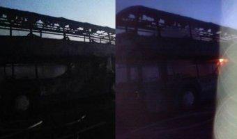 дтп тула сгорел автобус