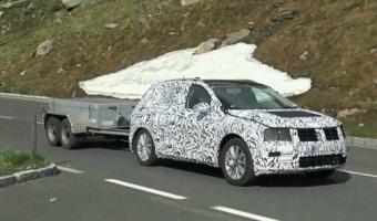 Новое поколение Volkswagen Tiguan проходит тесты в горах