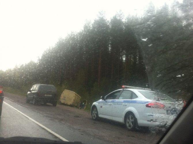 под Выборгом в ДТП с инкассаторской машиной погиб водитель.jpg